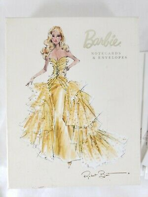 Barbie Note Cards Robert Best Graphique De France 4 Designs 19 Cards Envelopes