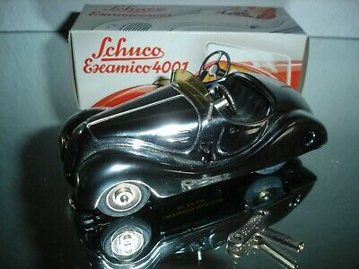 Schuco Examico 4001 Cabrio  Chrom  Made in Western Germany