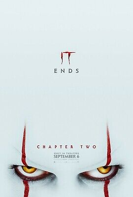 """It Chapter Two """"B"""" vg 27x40 Original D/S Movie POSTER"""