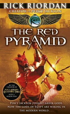 (Very Good)-The Kane Chronicles: The Red Pyramid (Hardcover)-Rick Riordan-014138