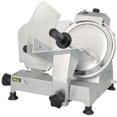 Buffalo Meat Slicer 250mm 120W Motor - CD278 Catering Commercial