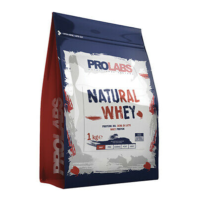 PROLABS proteine siero latte concent. isolate 1Kg (NATURAL WHEY)+SHAKER,no aromi