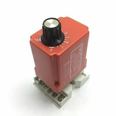 NCC T2K-5-461 Solid State Timer Relay, 0.05-5 sec, Input: 120VAC, With Socket