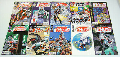 Mr. Majestic #1-9 VF/NM complete series + variant - ed mcguinness - joe casey