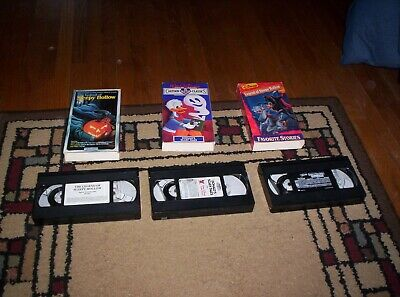 2 Versions Of The Legend Of Sleepy Hollow And Donald's Scary Tales Vhs Videos