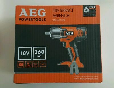 "AEG 18v 1/2"" Impact Wrench (360Nm) BSS18C12Z (Body Only) Naked NEW & BOXED"