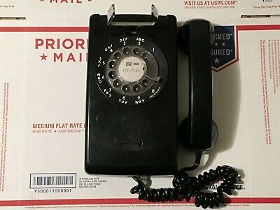Vintage Bell System by Western Electric Wall Mount Rotary Dial Phone