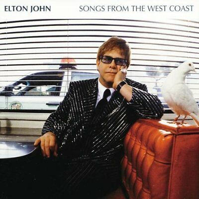 ELTON JOHN Songs From The West Coast (2001) 12-track CD album NEW/UNPLAYED
