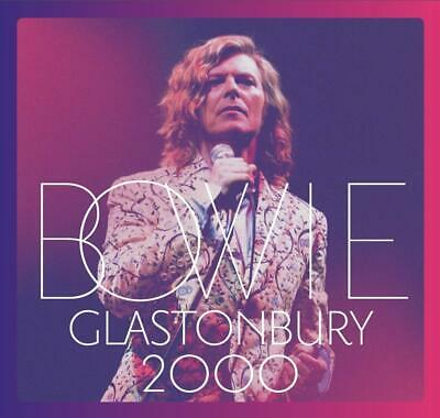 DAVID BOWIE Glastonbury 2000 (2018) 21-track 2-CD album NEW/SEALED