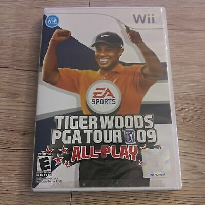 Wii Nintendo Tiger Woods PGA Tour '09 All-Play - EA Sports - Videogame - Complet