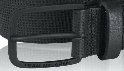 BELT Team McLaren Formula One 1 F1 Premium Official Merchandise Black CA