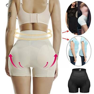 Women Hip Enhancer Panty Padded Underwear Fake Ass Buttock Body Shaper Briefs US