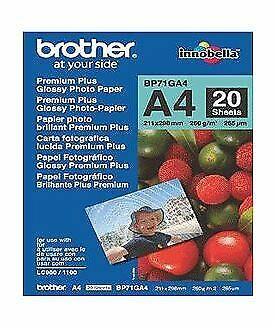 NEW! Brother BP71G A4 Glossy Paper