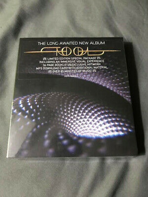 "Tool Fear Inoculum Deluxe Limited Edition Cd + 4"" Hd Screen + Mp3 Sealed New"