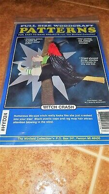 The Winfield Collection Witch Crash # HYD24 Woodcraft Pattern