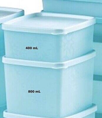 Tupperware Freeze It Mates Plus Set-2 ~Small,  Small Deep with Stain Guard