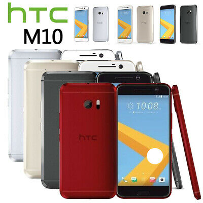 Android Smartphone New&Sealed Factory Unlocked HTC 10 Red Black Silver Gold 32GB
