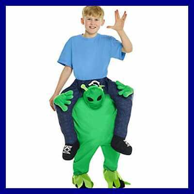Alien Piggyback Kids Costume One Size HALLOWEEN COSTUME STANDARD Boys