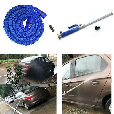 Aluminium High Pressure Power Washer Spray Nozzle Water Gun Hose +50ft hose