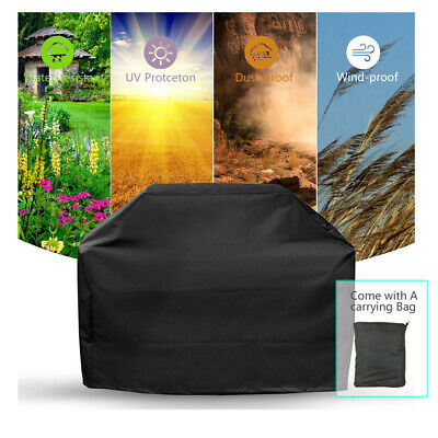 Heavy Premium Heavy Duty BBQ Cover Waterproof Barbecue Grill Smoke Protection UK