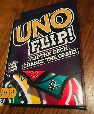 Uno Flip - Double Sided Card Game BRAND NEW makers of UNO (AU Stock)