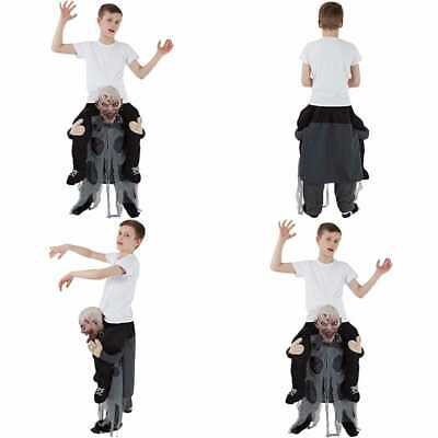 Zombie Piggyback Costume Kids HALLOWEEN COSTUME ONE SIZE Boys Childrens Costume