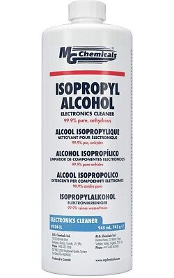 Alcool Isopropylique Nettoyant 99,953%  945 Ml Mg Chemicals