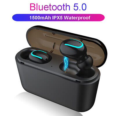 Alfawise HQB - Q32 TWS Binaural Mini Wireless Bluetooth Earbuds-Power Bank