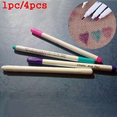 Erasable Fabric Crafts Marker Pen Cross Stitch Water-soluble Needlework Tool