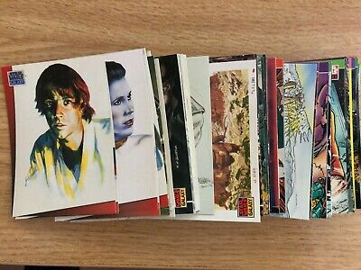 STAR WARS Galaxy Topps trading cards 1993 + FREE P&P
