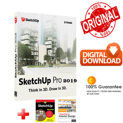 SketchUp Pro 2019 ✔️ Lifetime 🔑 Version Portable ✔️3D Modeling Layout Design