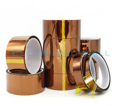 33M 280℃ Gold Finger High Temperature Resistant Tape Battery Insulation KAPTON