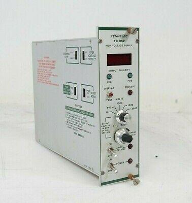 TENNELEC TC 952 Rev 8 High Voltage Power Supply