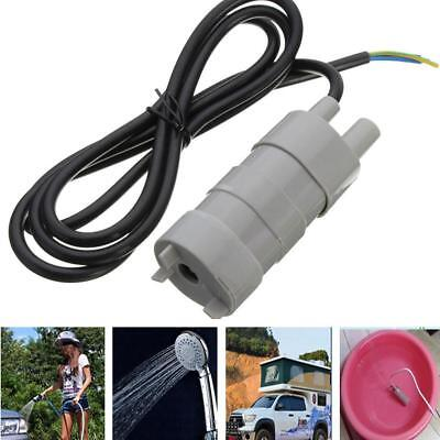 600L/H 12V Solar Brushless Magnetic Submersible Water Pump 5M Garden Home Pond a