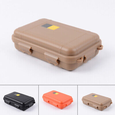 ABS Plastic Outdoor Shockproof Sealed Waterproof Storage Case Tool Dry Box US