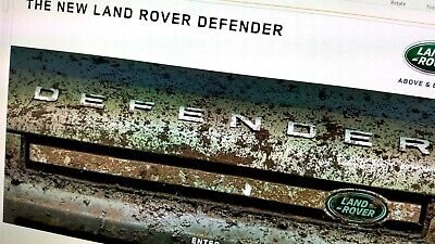 Land Rover Defender 2020 PDF UK Brochure - 108 'pgs' *NOT a physical brochure*