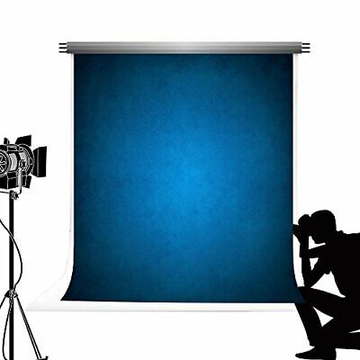 KateHome PHOTOSTUDIOS Kate Dark Blue Abstract Photography (5x7ft|Color 117)
