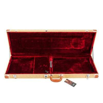 New Hard Case Fits Most Standard Electric Guitars Lockable Glarry