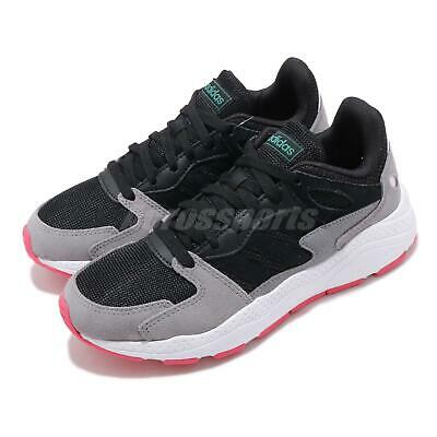 adidas Crazychaos Black Grey Pink Womens Running Shoes Sneakers EF1060