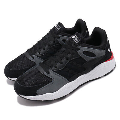 adidas Crazychaos Black Grey White Mens Running Shoes Sneakers EF1053