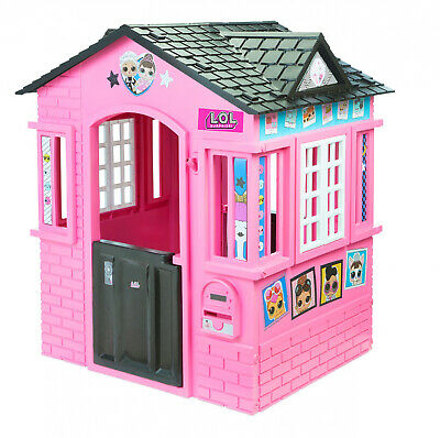 Playhouse L.O.L. Surprise! Indoor/Outdoor Cottage w Glitter lol House Girls NEW