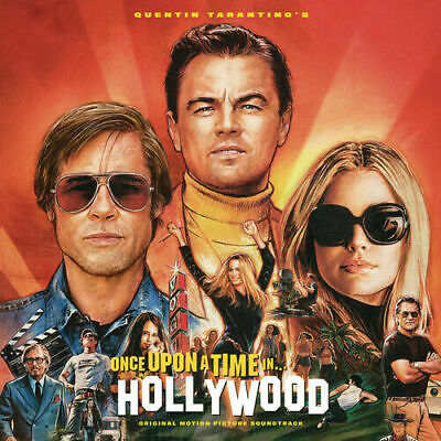 ONCE UPON A TIME IN HOLLYWOOD Original Soundtrack CD NEW Quentin Tarantino's