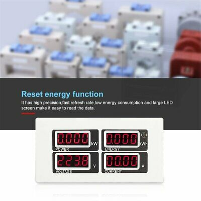 Digital AC Energy Meter TTL Voltage Current Power Monitor With Split/Coil sT