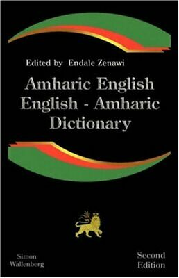 Amharic English, English Amharic Dictionary: A , Zenawi, Endale,,