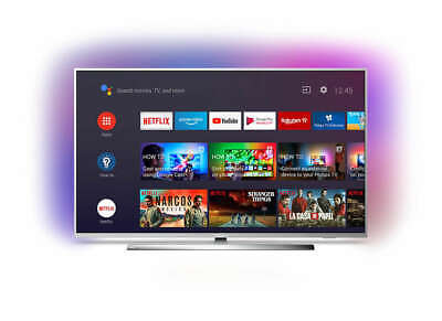 "Philips 43PUS7354 43"" Zoll 108 cm Smart TV 4K UHD LED Ambilight Silber"