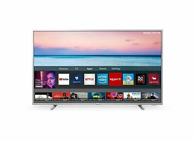 "Philips 50PUS6554 50"" Zoll 126 cm Smart TV 4K UHD LED WLAN Silber"