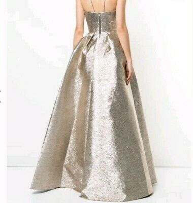 Alex perry dress 10 Gold Gown