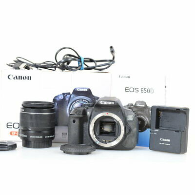 Canon EOS 650D / Rebel T4i 18.0MP + EF-S 18-55mm F/3.5-5.6 IS II - 19317 Shots