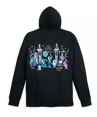 Disney Parks The Haunted Mansion Cuties Hoodie Sweater Size Large New