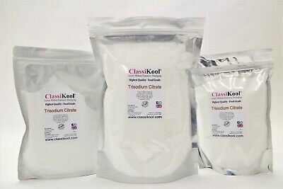 Classikool Trisodium Citrate 30-100 Mesh (E331) Food & Drink Preservative